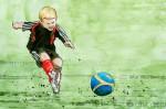 Kicken für den guten Zweck: Podolski & Friends vs. Mertesacker & Friends