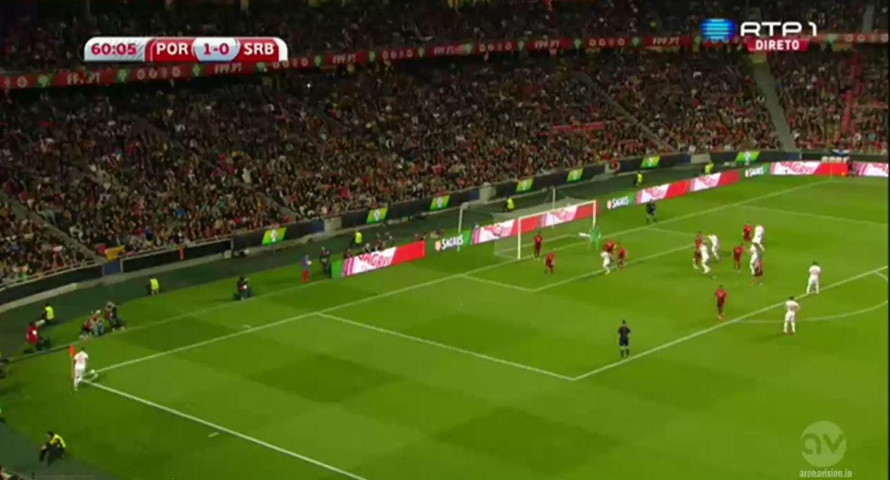 Nemanja Matic trifft spektakulär gegen Portugal