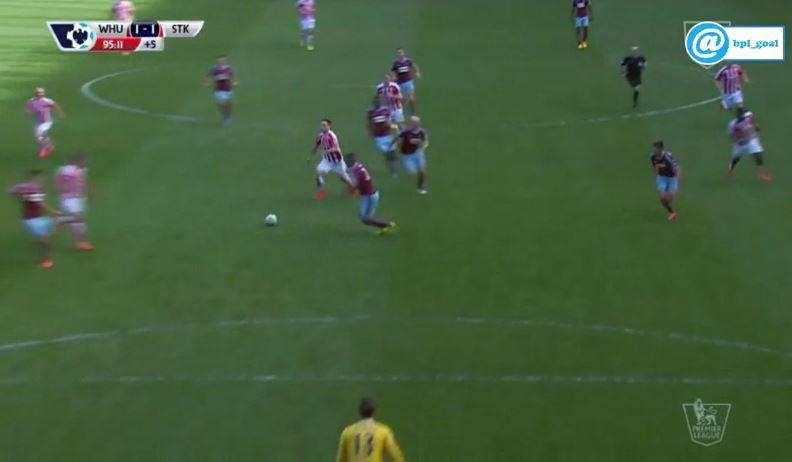 Marko Arnautovic erzielt in letzter Sekunde Ausgleich gegen West Ham United