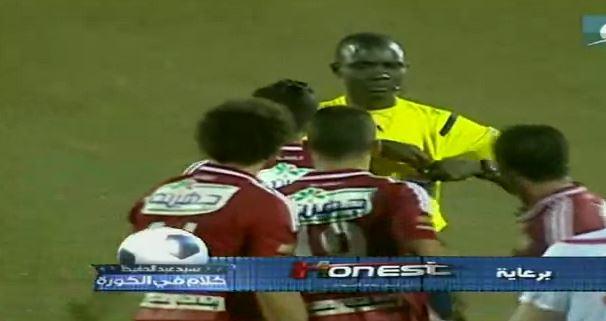 Schiedsrichter verschafft sich Respekt