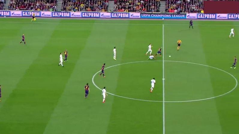 Neymar trifft nach herrlichem Iniesta-Solo gegen PSG