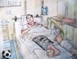 Die Waffen des Verletzungsteufels, Teil 1 – Kreuzbandriss und Mittelfußbruch