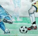 Olympia 2012 - der erste Tag beim Fußballturnier der Damen