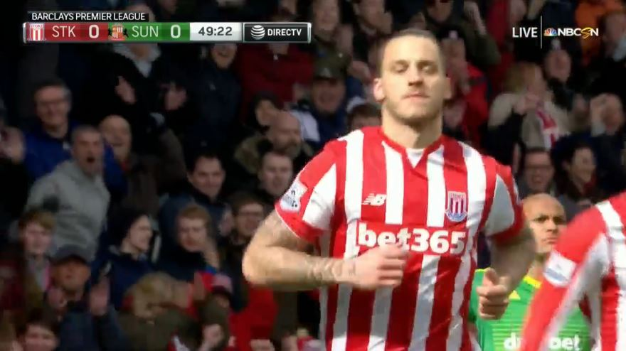 Arnautovic trifft gegen Sunderland