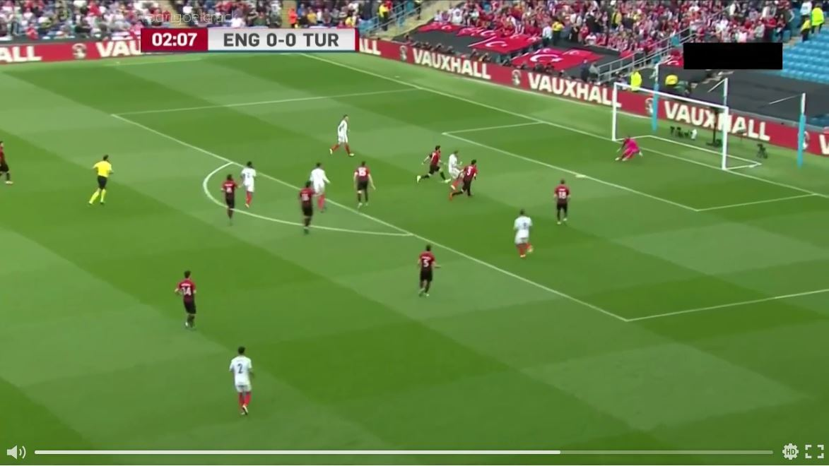 England - Türkei 2:1 (Highlights)