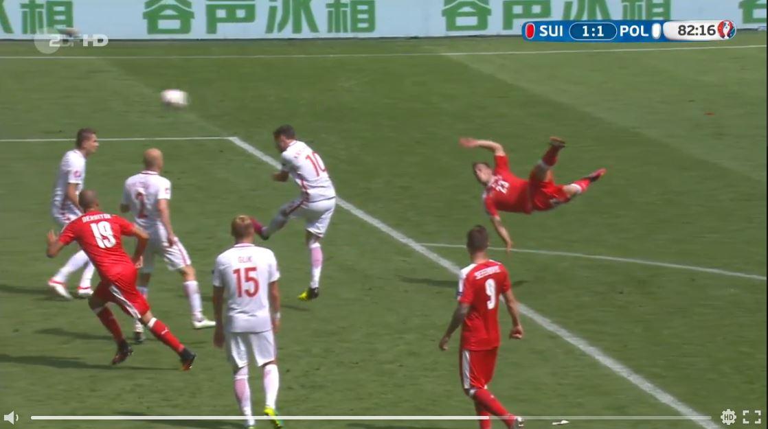 Shaqiris Traumtor gegen Polen