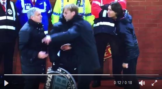 Gestern in der Premier League: Klopp vs Mourino