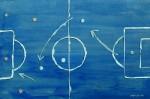 Zonenfußball (3)   Wieso man im Dreieck lieber nicht wie eine Armee stehen sollte
