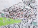 Die Bagger sind eingerollt: Abriss des Hanappi-Stadions hat begonnen!
