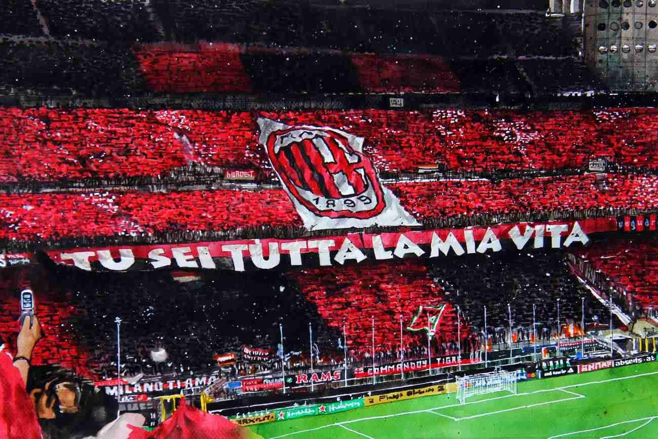 _AC Milan - Fantribüne