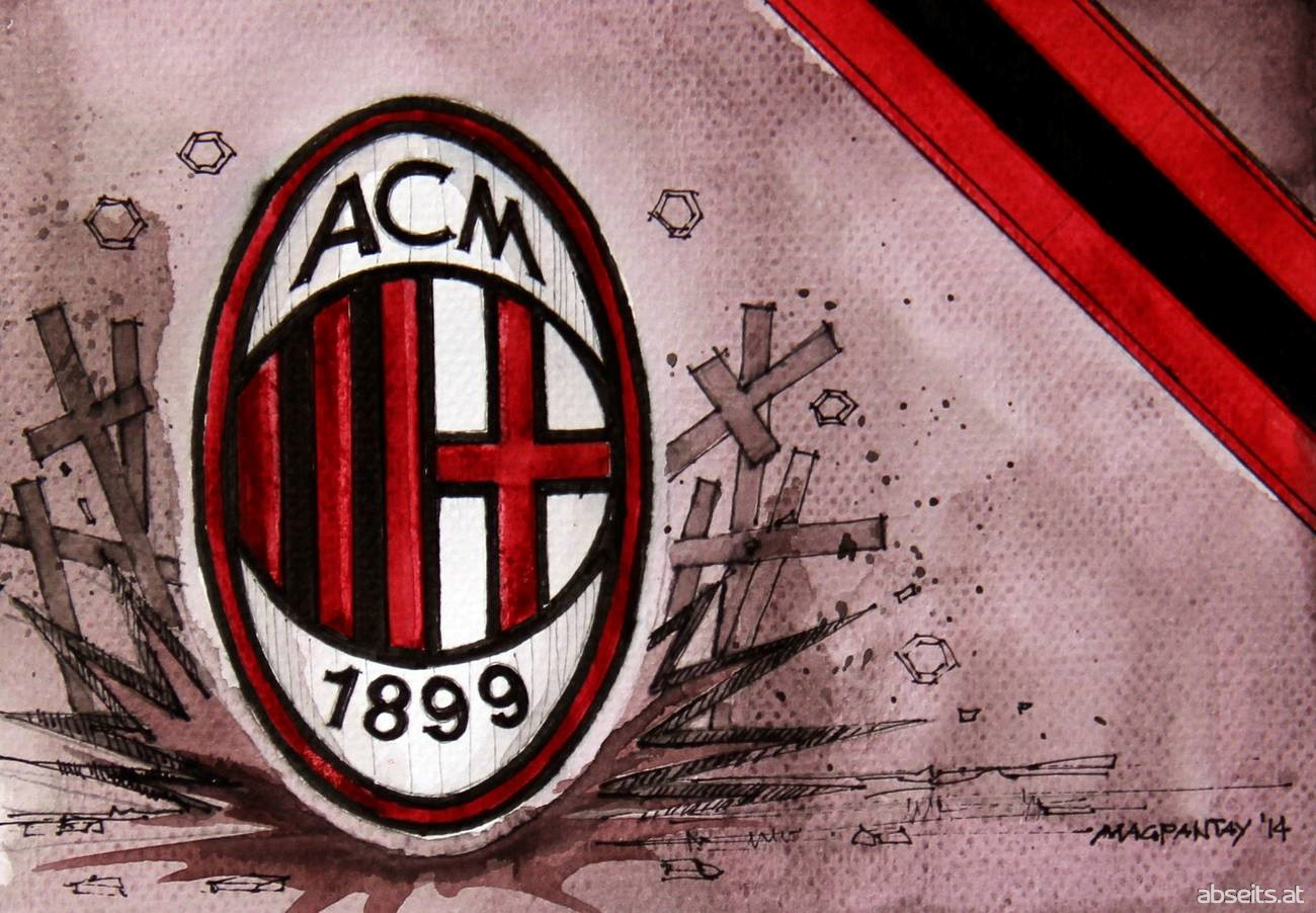 AC Milan - Wappen mit Farben_abseits.at
