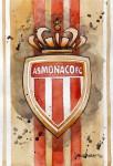 _AS Monaco - Wappen, Logo