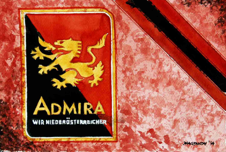 _Admira Wacker Mödling - Wappen mit Farben