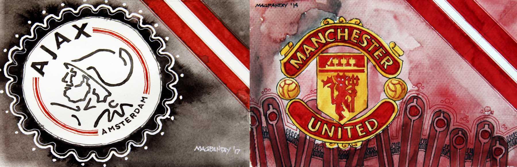 _Ajax Amsterdam vs Manchester United
