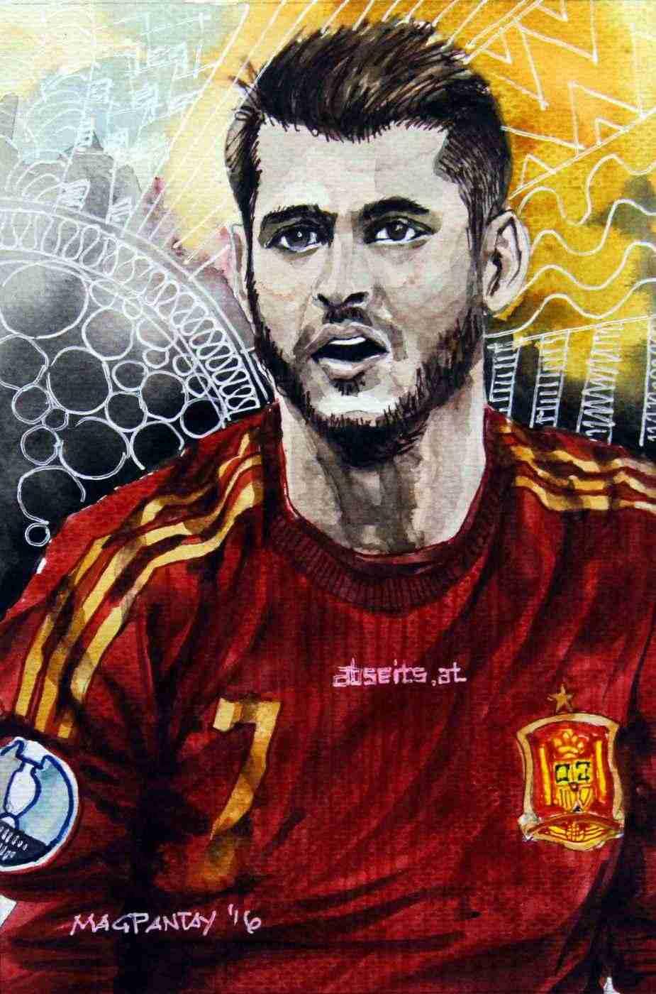 _Alvaro Morata - Spanien