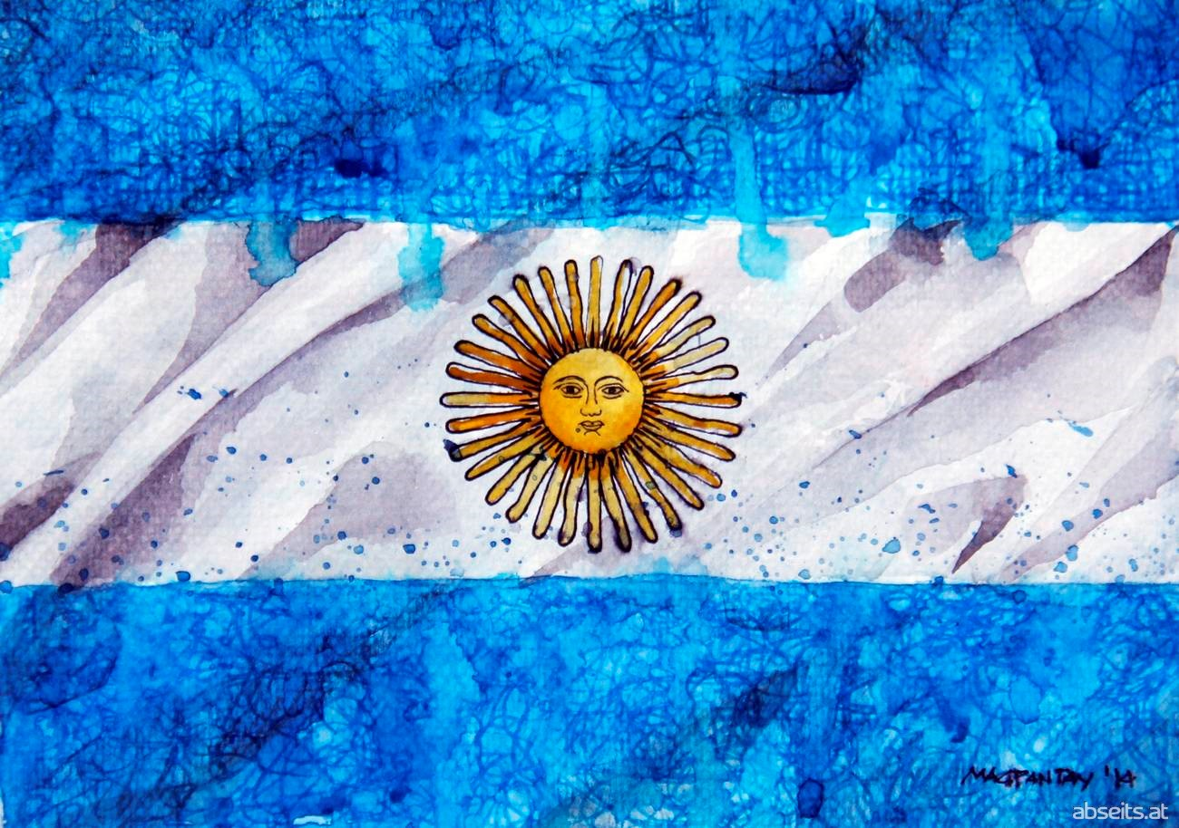 Argentinien - Flagge_abseits.at