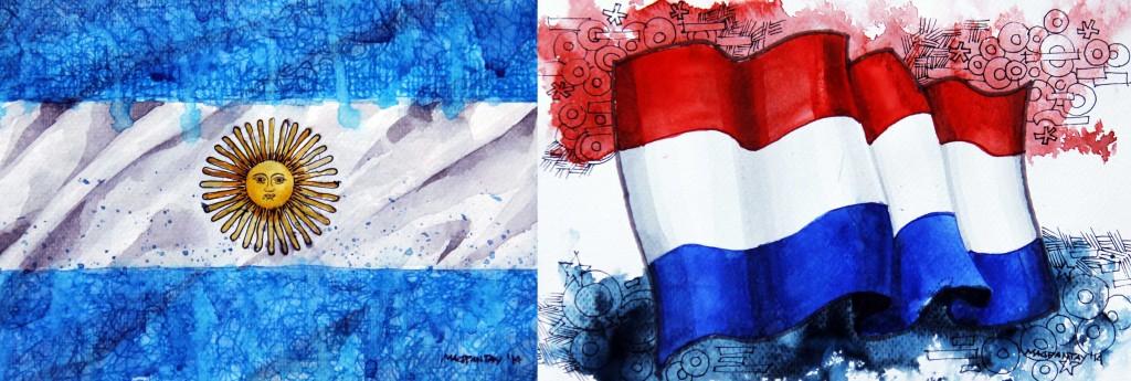 Spielfilm/Taktikticker: Argentinien – Niederlande 0:0 (4:2 n.E.)