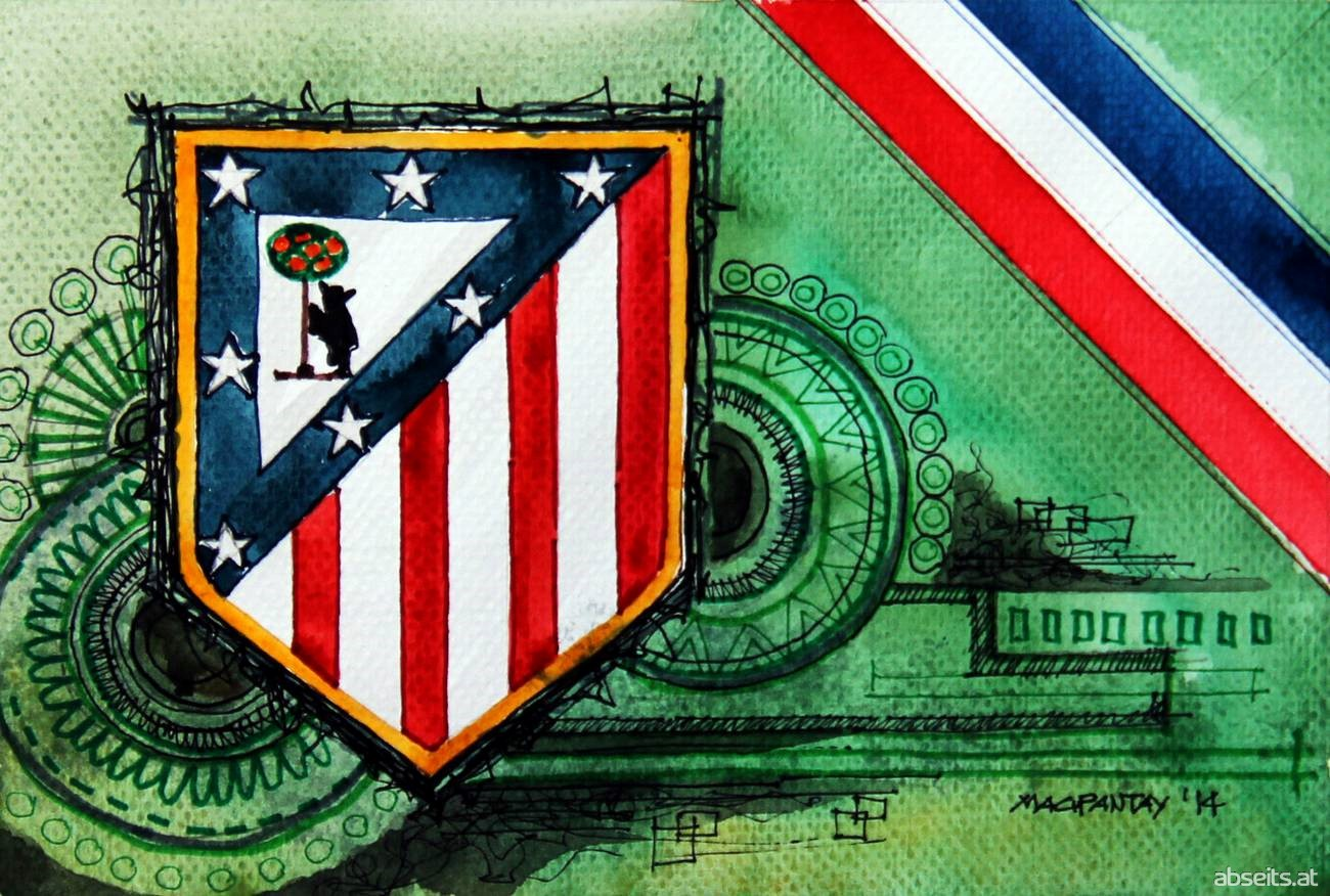 Atlético Madrid - Logo, Wappen_abseits.at