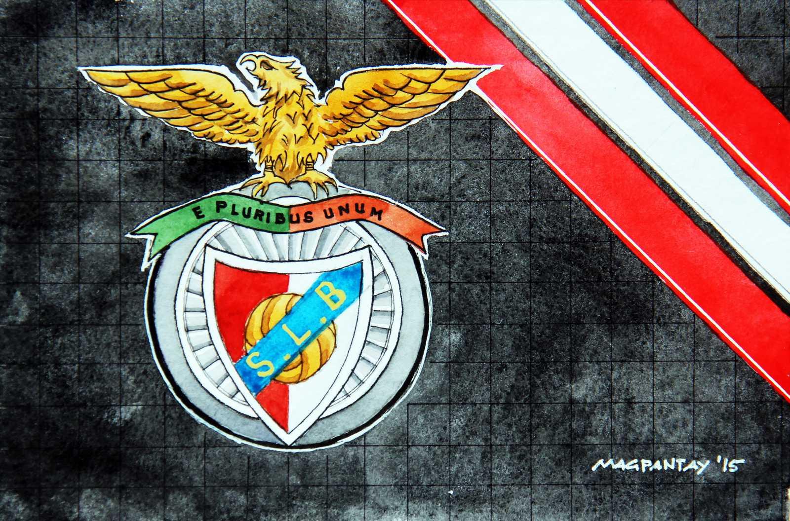 _Benfica Lissabon Wappen Stripes