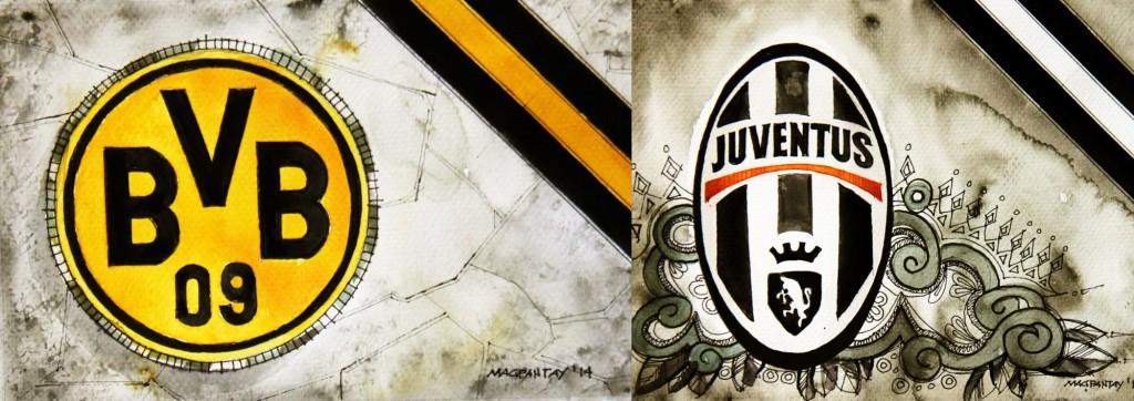 Taktikticker/Spielfilm: Borussia Dortmund – Juventus Turin 0:3