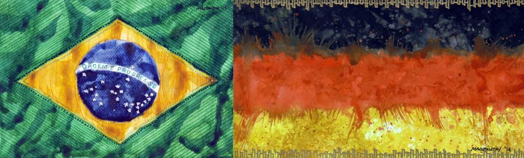 Taktikticker/Spielfilm: Brasilien – Deutschland 1:7