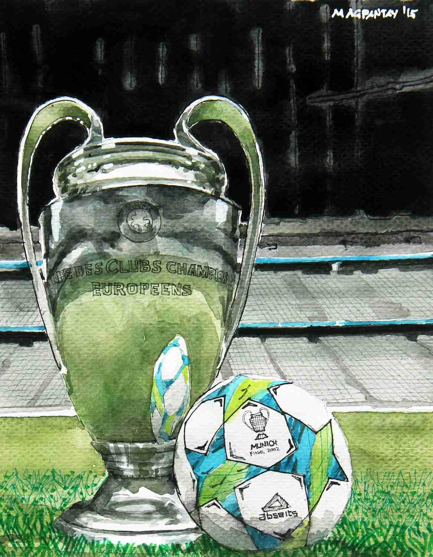 _Champions League Pokal (2)