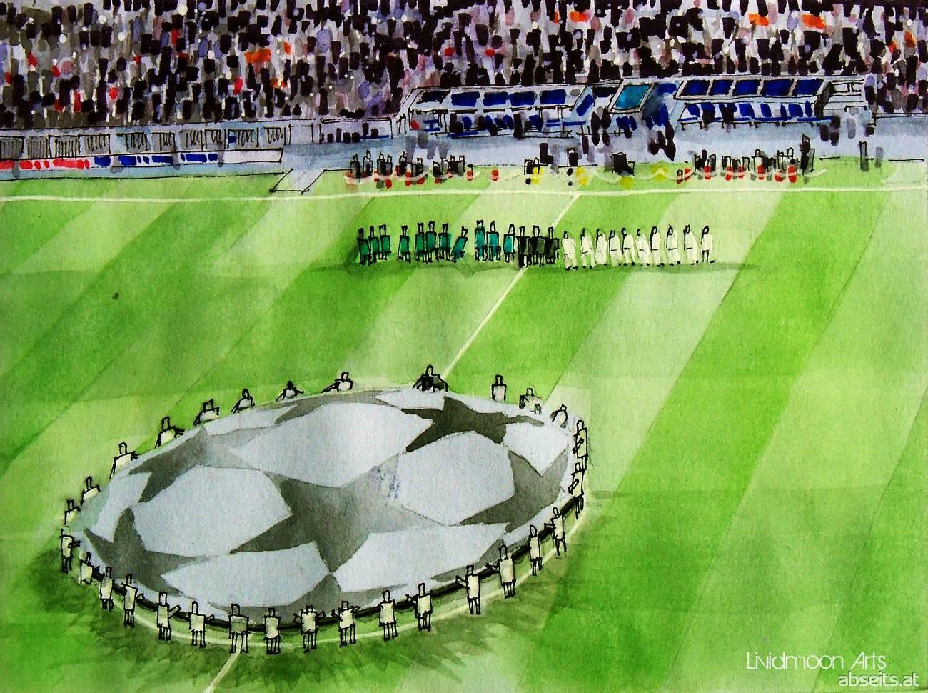 Champions League vor dem Spiel_abseits.at