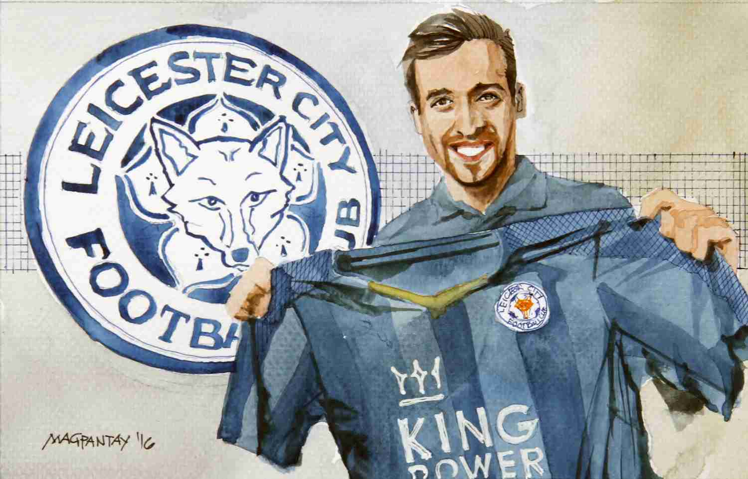 _Christian Fuchs - Leicester City