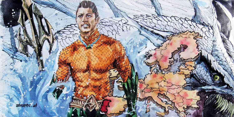 _Cristiano Ronaldo als Aquaman