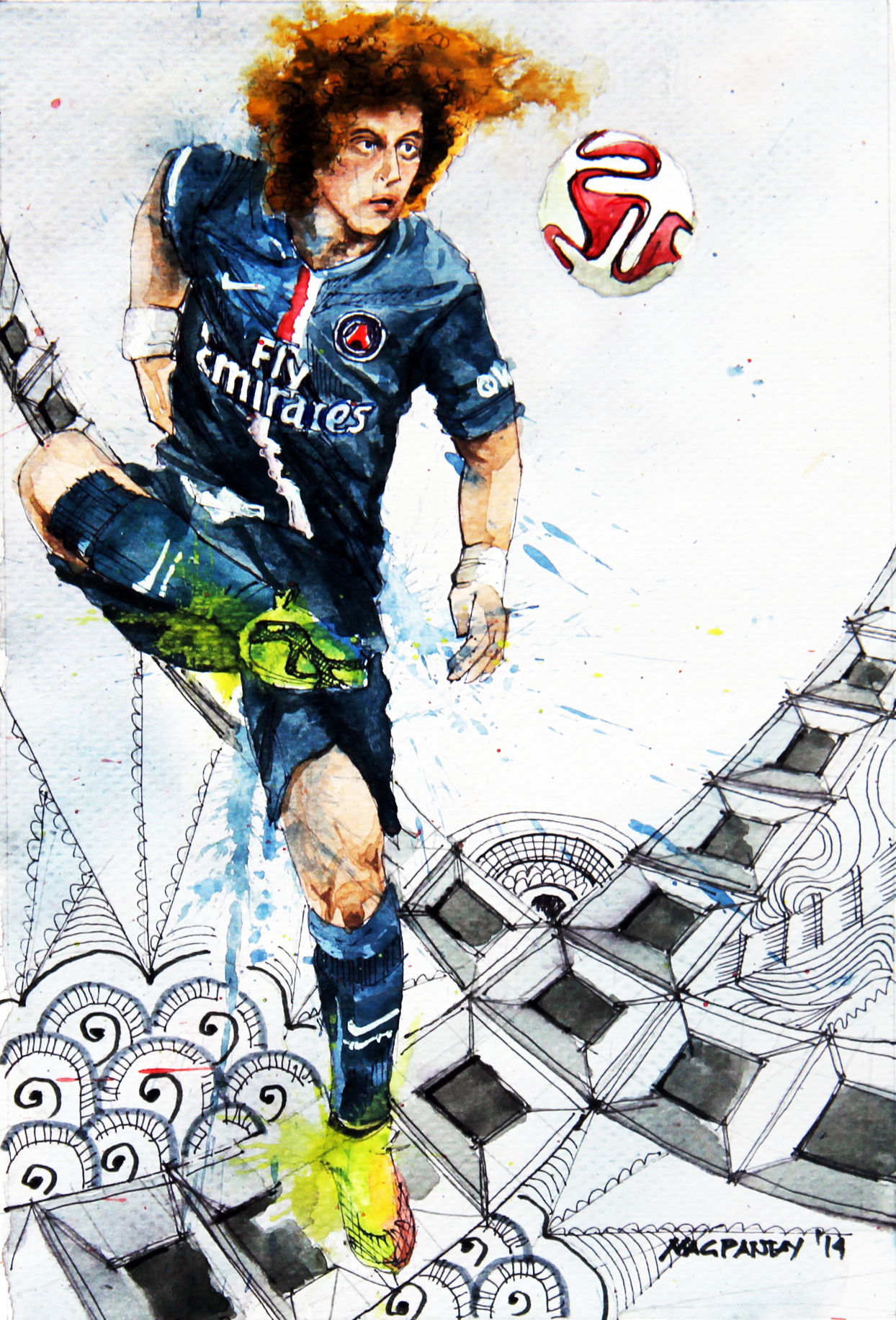 David Luiz - Paris St.Germain