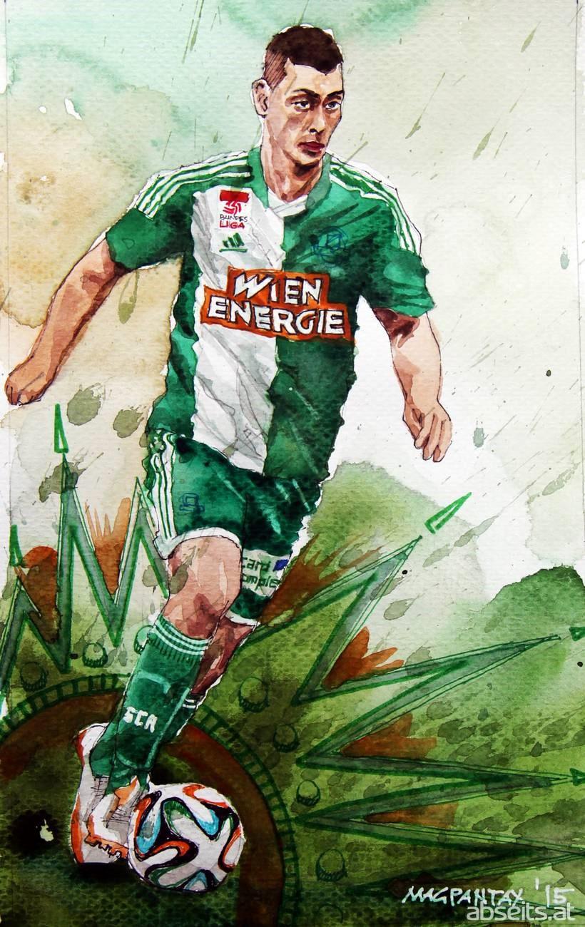 Dominik Wydra - SK Rapid Wien_abseits.at