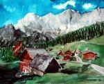 _Dorf, Landschaft, Österreich