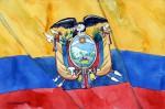 Ecuador - Flagge
