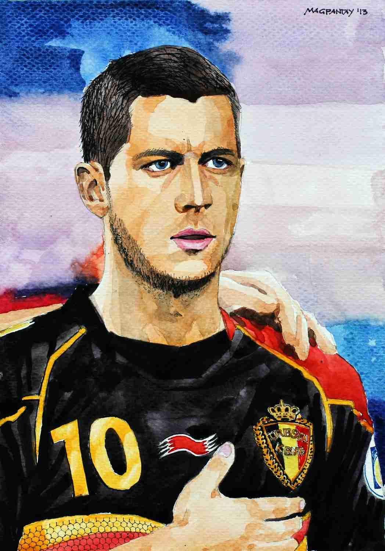 _Eden Hazard - Belgien, Chelsea
