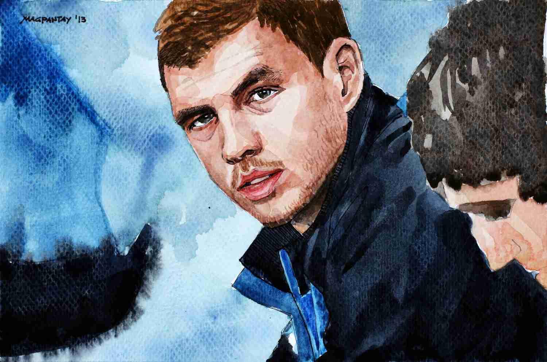 _Edin Dzeko - Manchester City, Bosnien