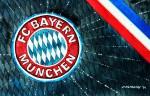 FC Bayern München - Wappen mit Farben