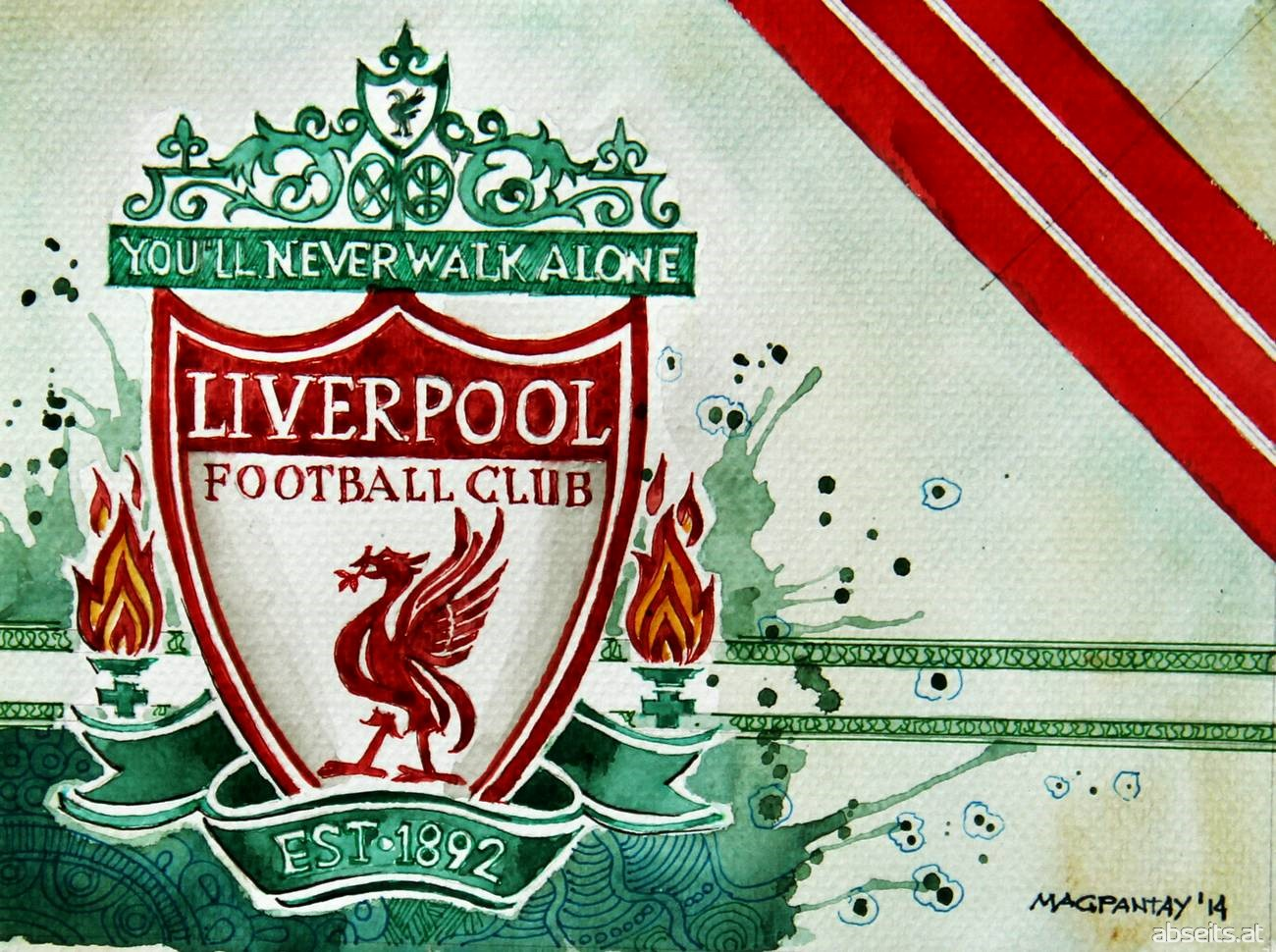 FC Liverpool - Wappen mit Farben_abseits.at