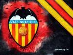 _FC Valencia Wappen Stripes
