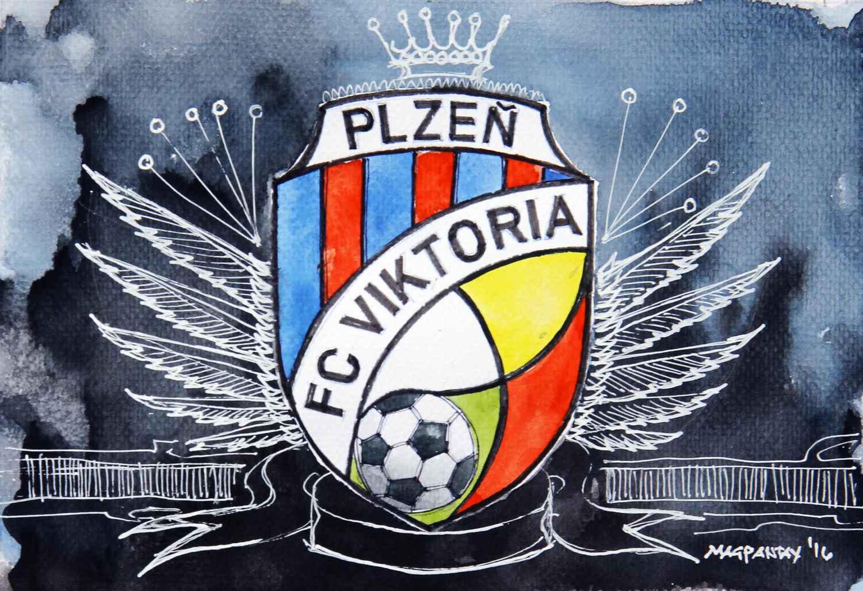 _FC Viktoria Pilsen - Wappen, Logo
