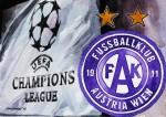 FK Austria Wien Wappen Logo Champions League