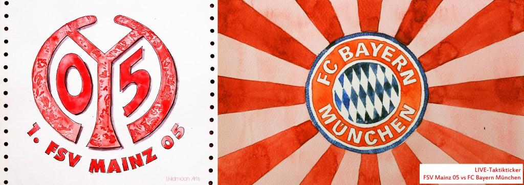 Spielfilm/Taktikticker: FSV Mainz 05 – FC Bayern München 0:2