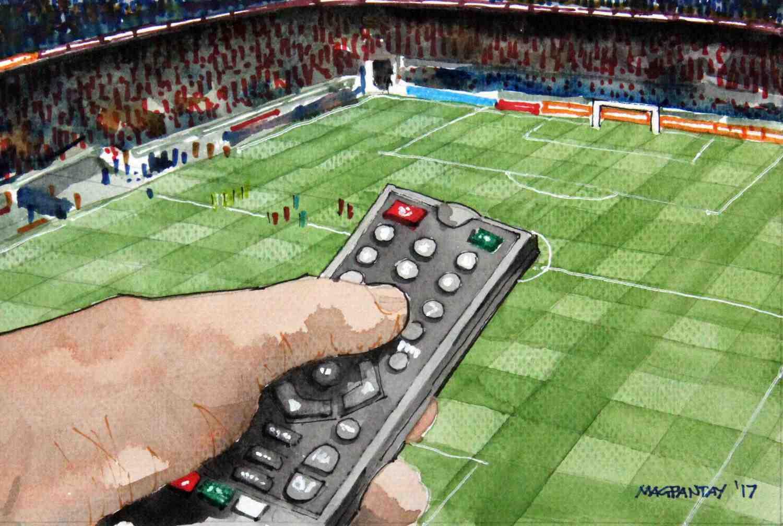 _Fernsehen Fernbedienung TV