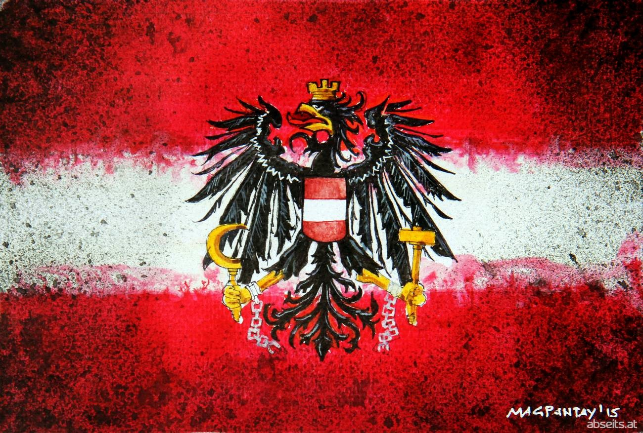 Flagge Österreich_abseits.at