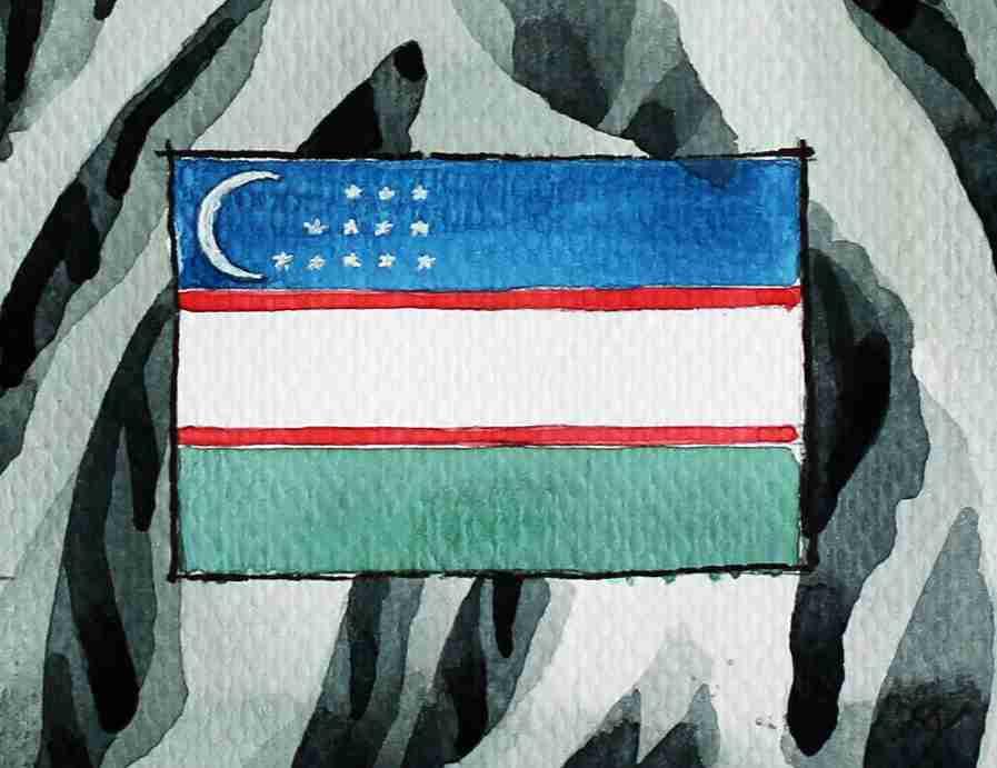 _Flagge Usbekistan