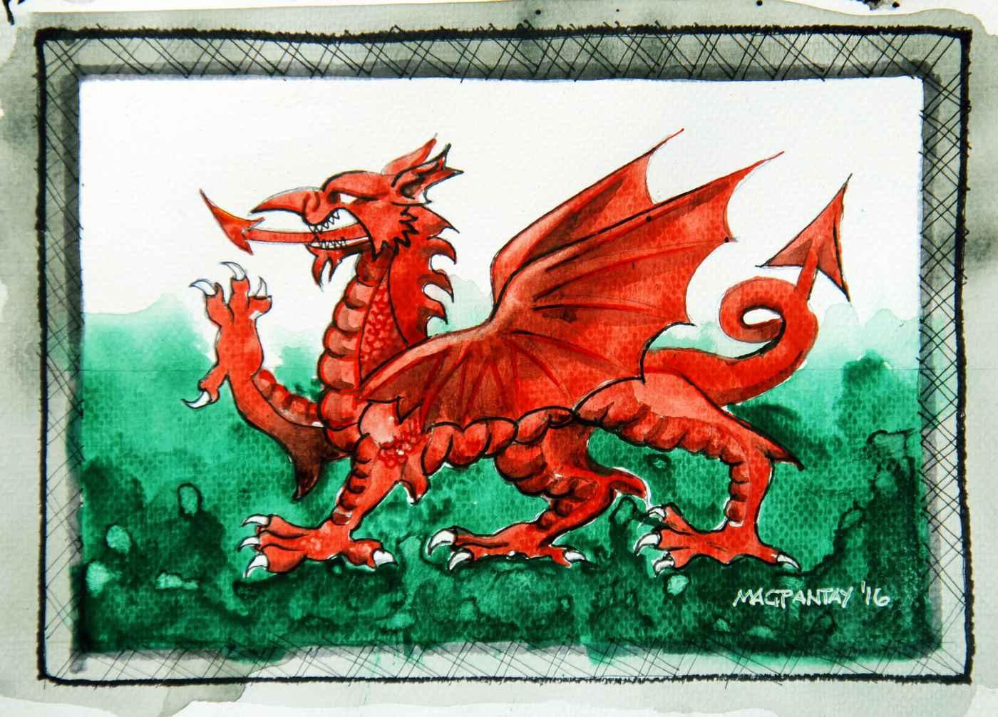 _Flagge Wales