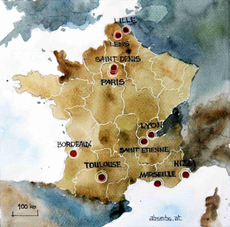 _Frankreich EM 2016 Karte
