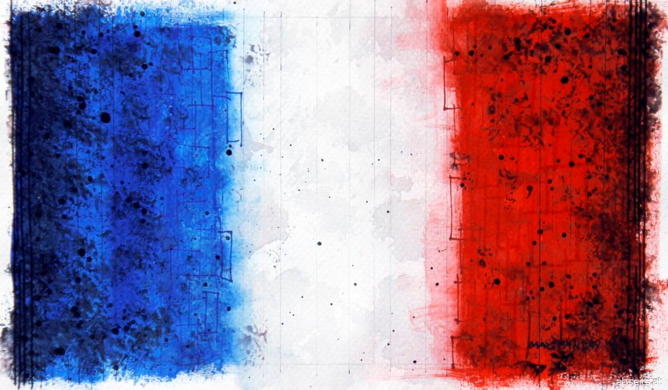 Frankreich - Flagge_abseits.at