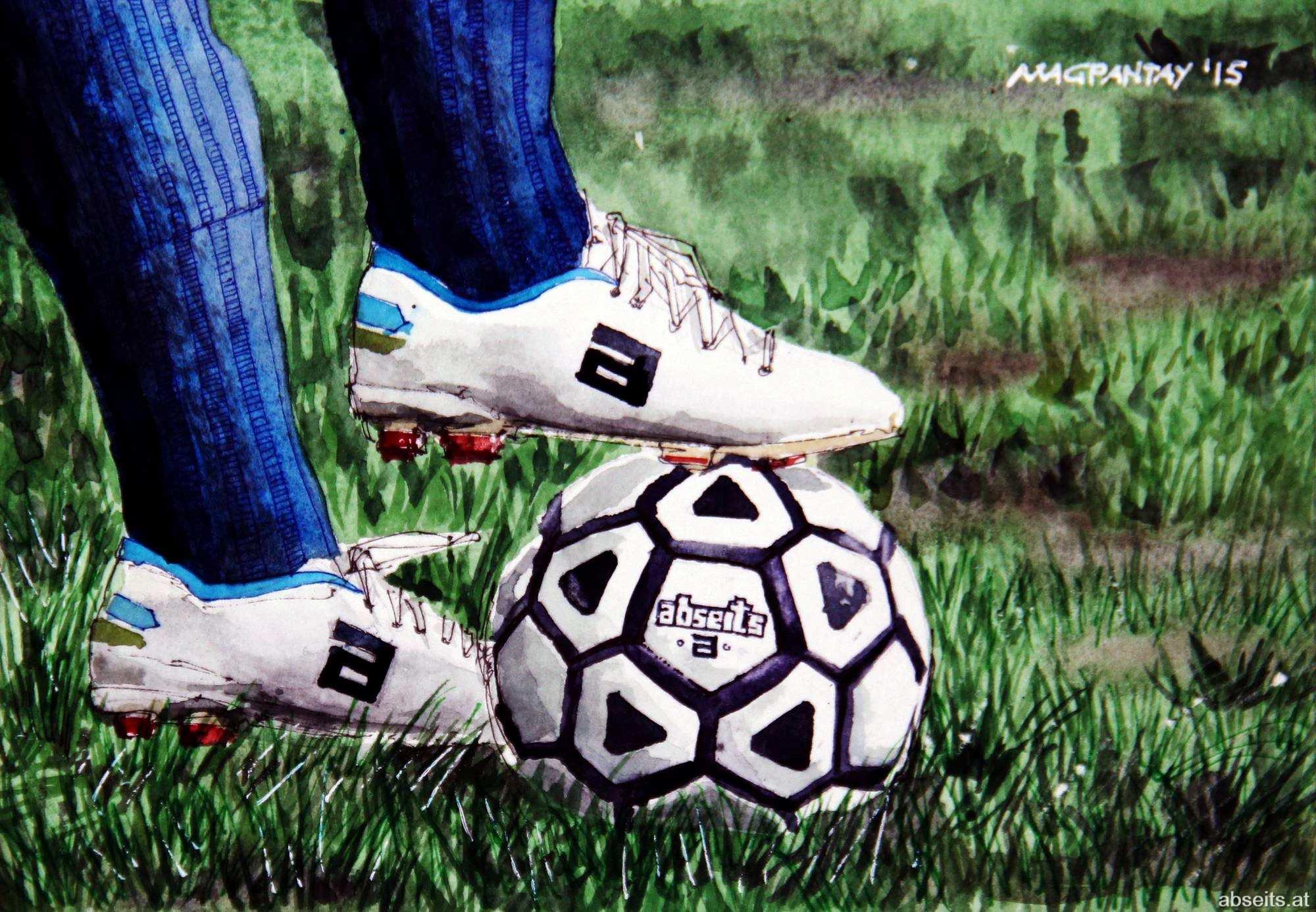 _Fußball Symbolbild abseits.at