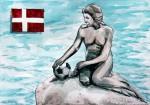 Fußball in Dänemark Meerjungfrau_abseits.at