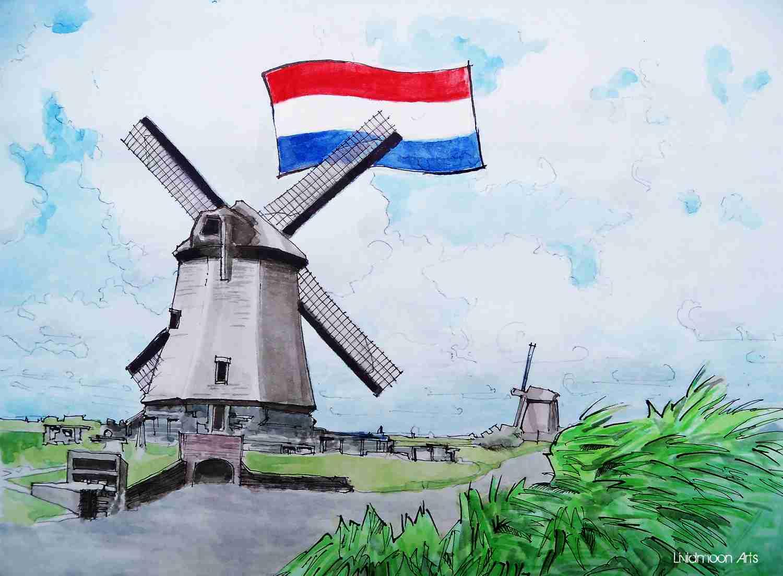 _Fußball in Holland Niederlande